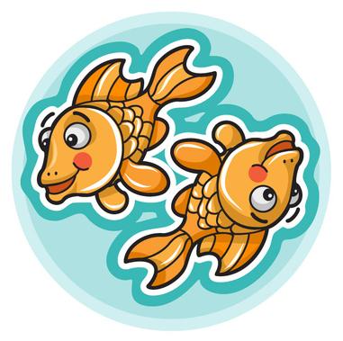 criança peixes